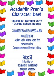 character day flyer