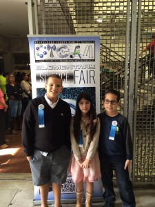 Elementary Science Fair Winners