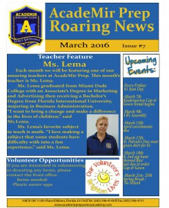 march news front