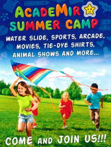 Summer Camp Flyer APA