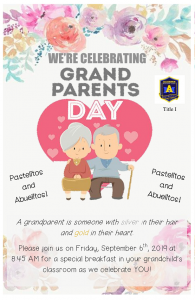 Grandparents Day Flyer