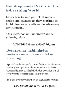 APA Parent Academy 11-18