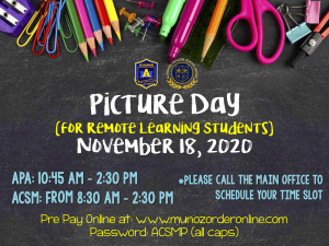 Remote Learning picture day (2)